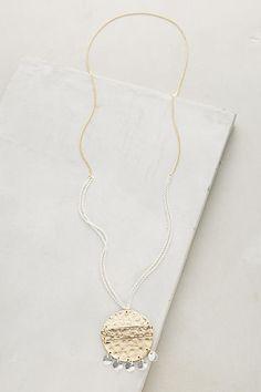 Anthropologie Surya Pendant Necklace