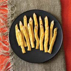 Cheddar Witch's Fingers | MyRecipes.com