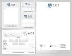 A.O.I Dental Clinic by Tincho Sstereo, via Behance
