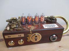 Bad Dog Designs ' Pandora's Clock' Steampunk Nixie Clock