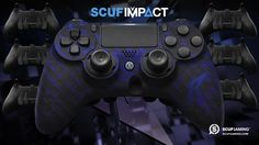 Sporting a dark, scale-covered design, the SCUF ViscaBarca offers a subtle, but unforgettable aesthetic. With deep indigo scales against a classic black soft touch, the ViscaBarca logo sets off this gorgeous tribute to one of Germany's favorite YouTube and pro gamer personalities. Pick up this sleek new design for the SCUF IMPACT or the SCUF Infinity1 today!