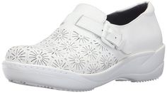 Cherokee Womens Maryann Health Care and Food Service Shoe White 6 M US >>> Continue to the product at the image link. Best Nursing Shoes, Cherokee Woman, Slip Resistant Shoes, Adidas Sneakers, Footwear, Food Service, Amazon, Health Care, Image Link