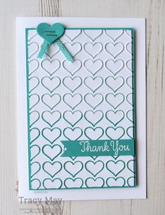 Happy Heart by Stampin' Up! Tracy May #GDP046
