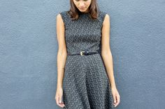 Pretty in Jacquard. #workwear #dress
