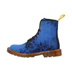 Blue Wall Flowers Martin Boots For Women Model 1203H
