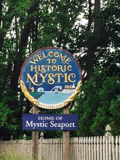 Mystic, Connecticut  It's an awesome little town.