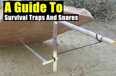 Snares And A Guide To Survival Traps - http://www.survivalacademy.co/