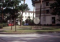 Like the apartment buildings for military families I grew up in, at Kaiserslautern AFB, in Germany. How I wish I could find more pictures of them from the '80s and '90s, but alas, they have now all been torn down and replaced with townhouse-style homes.