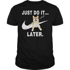 Awesome Shiba Inu Lovers Tee Shirts Gift for you or your family your friend:  Shiba Inu Sleep Tee Shirts T-Shirts