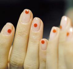Beauty Nails - Nail Art Design Nagellack # Nagellack # Nagelgel Design - NailArt - in 2020 Minimalist Nails, Dot Nail Art, Manicure E Pedicure, Manicure Ideas, Nail Ideas, Makeup Ideas, Nail Inspo, Short Nails, Nail Arts