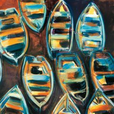 Boat Pods by G.A. Hickman