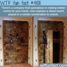 Company that makes hidden rooms in your house - WTF fun facts