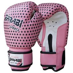 6oz Kids Boxing Gloves Child Punching Sparring Kick Mitts MMA JuniorMitt Leather