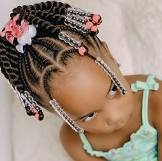 Little Girl Braid Styles, Little Girl Braid Hairstyles, Toddler Braided Hairstyles, Toddler Braids, Easy Braid Styles, Black Kids Hairstyles, Little Girl Braids, Girls Natural Hairstyles, Baby Girl Hairstyles
