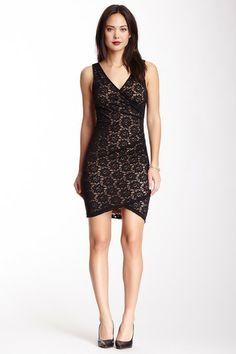 Nicole Miller Daisy Lace Dress on HauteLook