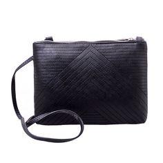 Famous Brand Design Small Fold Over Bag Mini Women Messenger bags Leather Crossbody Sling Shoulder bags Handbags Purses Zipper