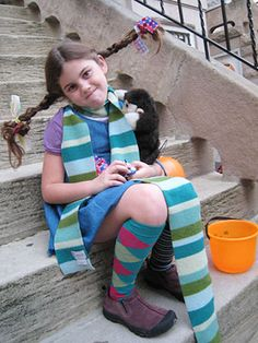 21 Halloween Costumes Made by Real Moms: Pippi Longstocking (via Parents.com)