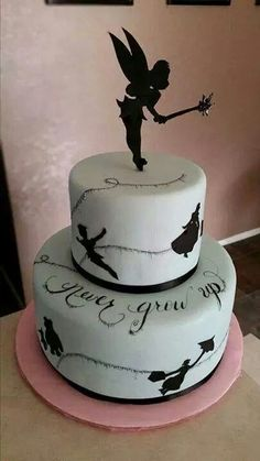 Disney Peter Pan Never Grow Up cake...