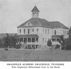 """In 1893 a box like structure 45 feet square, with two stories above a ten-foot basement, was erected on a nine-acre campus, the entire property valued at approximately $3,000. The school became known as Graysville Academy..."" (SDA Encyclopedia, 1976:1395)"