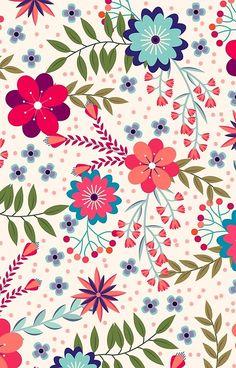 Pattern Floral pattern by Minakani # minakani # fokflower Pattern Floral pattern by Minakani # minakani # fokflower Iphone Background Wallpaper, Cellphone Wallpaper, Flower Wallpaper, Pattern Wallpaper, Posca Art, Cute Backgrounds, Motif Floral, Flyer, Pattern Illustration