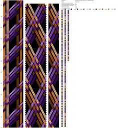 Рисуем схемы для жгутов из бисера, вышивки и др.'s photos Bead Crochet Patterns, Bead Crochet Rope, Beading Patterns, Beaded Necklace Patterns, Beaded Jewelry, Burberry, Brick Stitch, Loom Beading, Jewlery