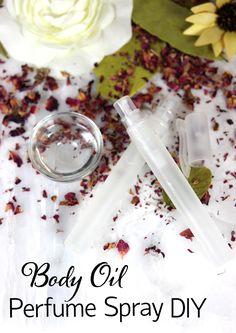 Body Oil Perfume Spray Tutorial
