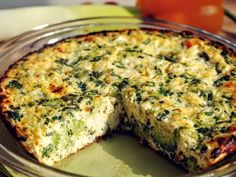 Frittata, Love Food, Stevia, Paleo, Food And Drink, Low Carb, Vegetarian, Snacks, Meals