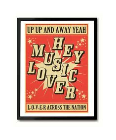 Hey Music Lover Sly and the Family Stone S Xpress Poster Art Print