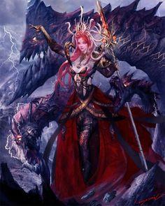 Señora de los dragones