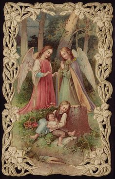 holy card - guardian angels