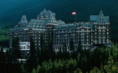Fairmont Banff Springs, Canada Guests and staff members claim they've encountered a bellhop dressed in full uniform on the ninth floor, who seems to disappear after he's done helping guests. It is believed he is the ghost of former employee Sam Macauley, who died in 1967 following the announcement of his retirement. Another resident ghost is thought to be a young bride who died on her wedding day at the hotel.