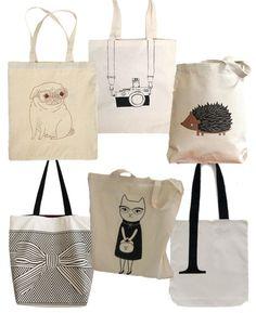 dfd9700197 Πώς να φτιάξετε μία φανταστική τσάντα tote bag σε 30 λεπτά + 40 μοναδικές  ιδέες!
