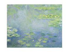 """You saved to Loft bedroom 16x12 Waterlilies Giclee Print by Claude Monet at Art.com""""Waterlilies"""" Claude Monet Posters and Prints at Art.com giclee"""