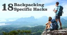 I, among many, have read a million and one tricks, tips and hacks for outdoor living. I'll admit it, I think they're fun and every thirty second one is something rational enough that I may use it in my lightweight backpacking adventures. But most of them seem to be for car campers living out of ...
