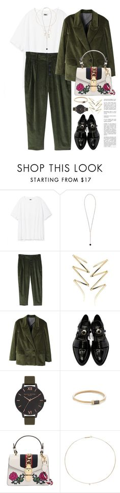"""Без названия #4939"" by catelinota-a ❤ liked on Polyvore featuring Skagen, MANGO, Lana, Toga, Olivia Burton, ZoÃ« Chicco, Gucci and Zimmermann"