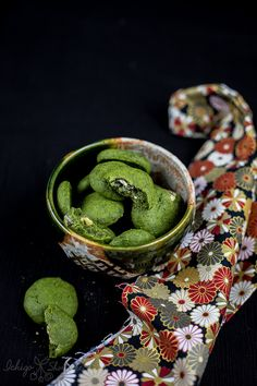Matcha green tea soft & chewy cookies – Country Ma'am style | Ichigo Shortcake