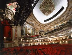 Oriental Theatre. Chicago.