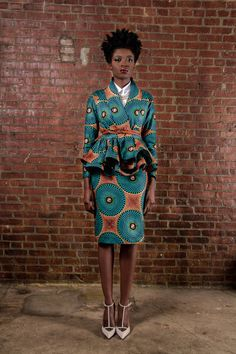 NEW The Patricia- Wrap Cardigan Jacket [African Print 100% Holland Wax Cotton]