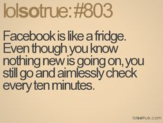 That is so true.