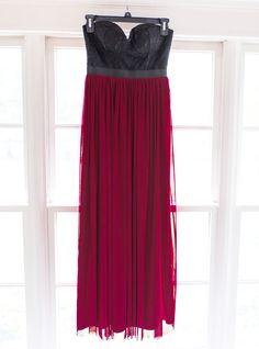 SIZE XSMALL: burgundy strapless flowy maxi dress Burgundy, Formal Dresses, Closet, Fashion, Formal Gowns, Moda, Armoire, Fashion Styles, Cabinet