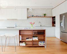 Kitchen design: Warm contemporary minimalism {PHOTO: Janis Nicolay}