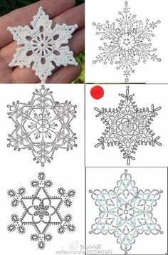 Crochet Stars, Crochet Snowflakes, Crochet Flowers, Snowflakes Art, Crochet Angels, Crochet Christmas Ornaments, Christmas Crochet Patterns, Snowflake Ornaments, Free Crochet Snowflake Patterns