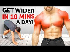Bulk Muscle, Martial Arts Workout, Chest Muscles, Youtube, Body Weight, At Home Workouts, Fitness Workouts, How To Get, Gym