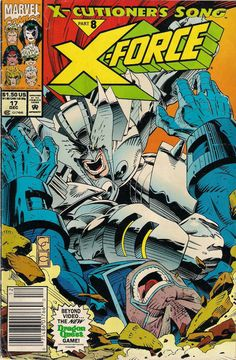 X-FORCE # 17 MARVEL COMICS 1992 FABIAN NICIEZA / GREG CAPULLO g(2.0) ~~