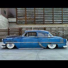 1954 Chevy 210.