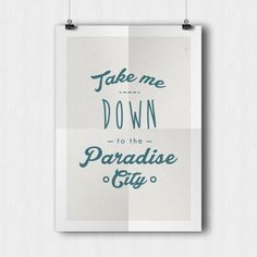 Take me down to the paradise city  Guns n Roses by AbstraktDesign