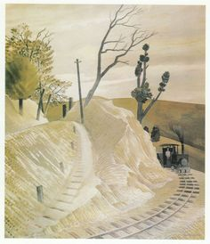 The Dolly Engine by Eric Ravilious