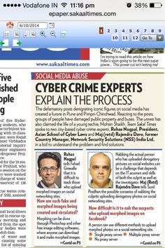 Cyber Crime Experts explain the process - www.asianlaws.org