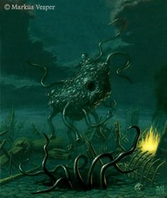 A flying polyp, one-time conquerors of Earth and enemies of the Great Race of Yith.