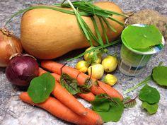 Zutaten Kürbiscremesuppe Carrots, Vegetables, Food, Essen, Carrot, Vegetable Recipes, Meals, Yemek, Veggies
